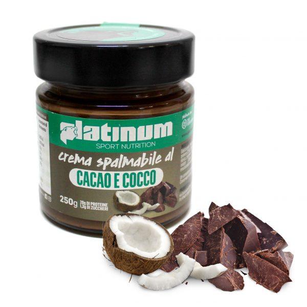 Crema spalmabile Cacao e cocco